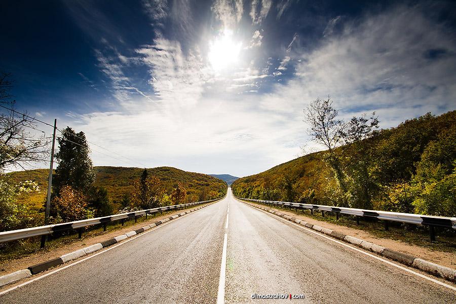 Прекрасные дороги Крыма