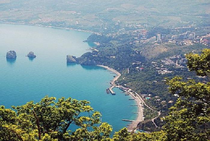 Набережная Гурзуфа станет после реконструкции одной из самых красивых в Крыму