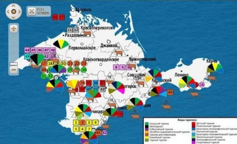 Карта инвестпроектов Крыма находится в разработке