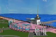 Проект реконструкции набережной Терешковой в Евпатории
