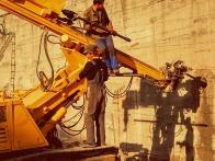 Установка анкерных систем KVL Steel на Симферопольской объездной (круг Проспекта Жукова) - октябрь 2019г.