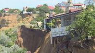 Оползневые участки в Севастополе