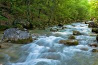 река Коккозка в Крыму