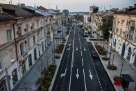 Улица Морская в Севастополе после реконструкции
