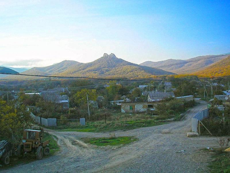 Судак - село Лесное